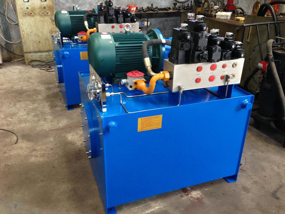 垃圾压缩机液压系统